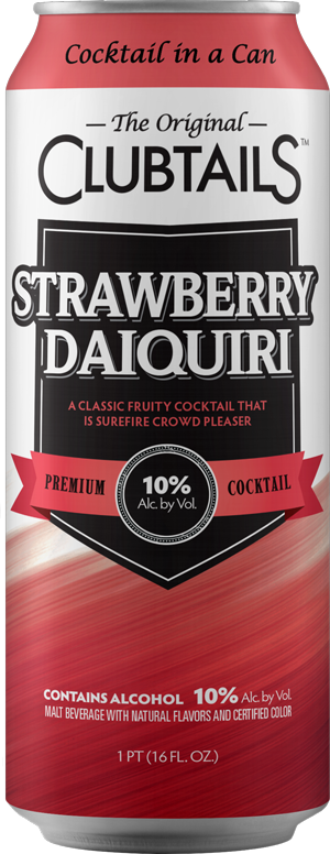 Clubtails: Strawberry Daiquiri