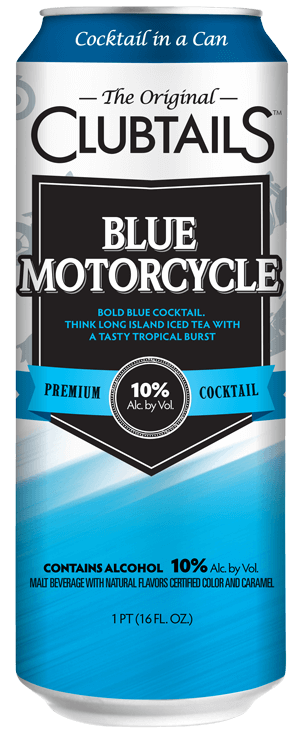 Clubtails - Blue Motorcycle
