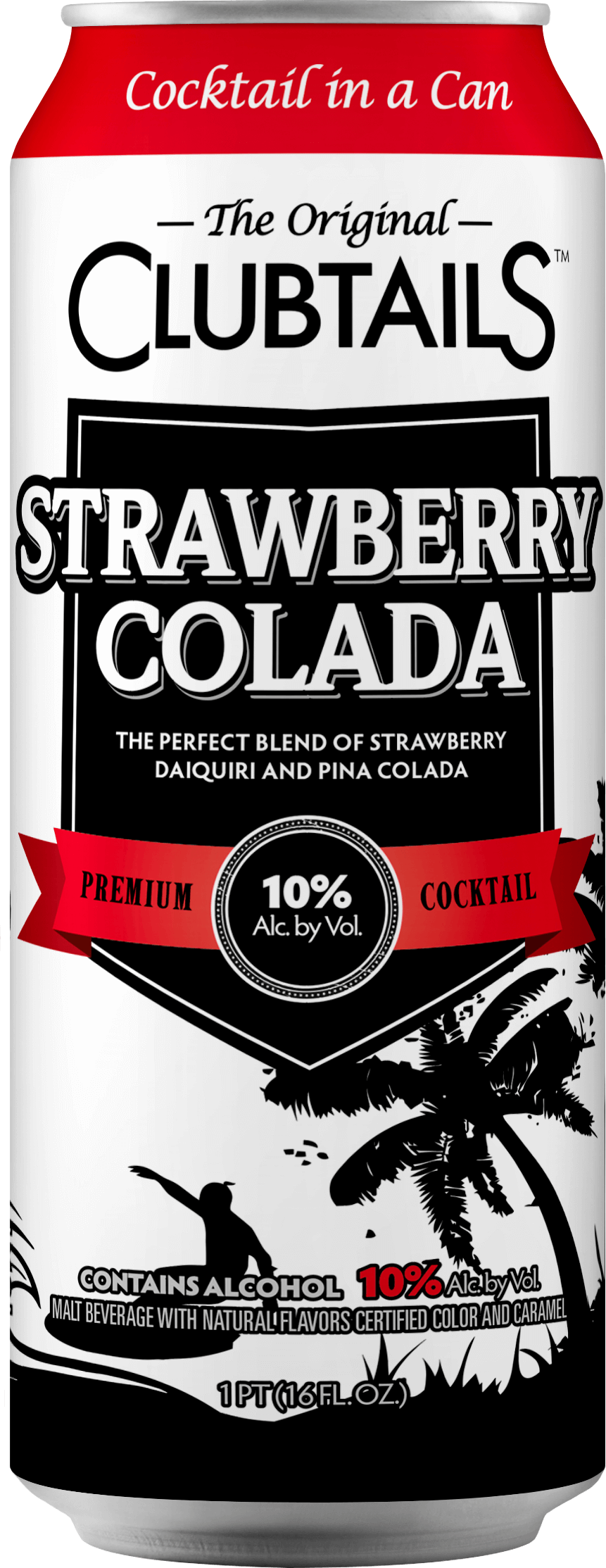 Clubtails: Strawberry Colada