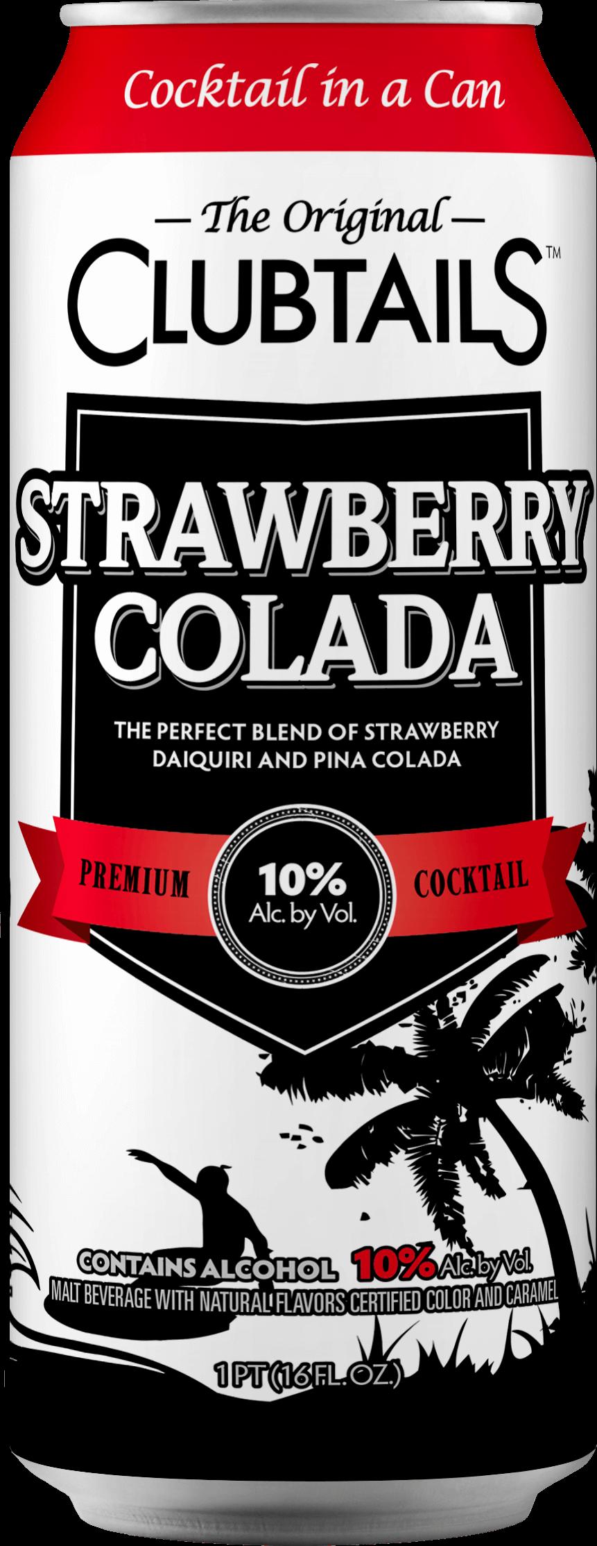 Clubtails: Strawberry Colada