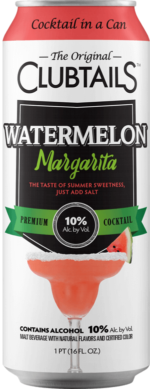 Clubtails: Watermelon Margarita