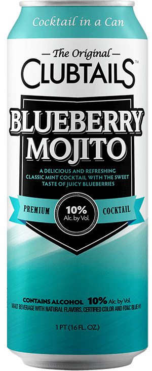 Clubtails: Blueberry Mojito